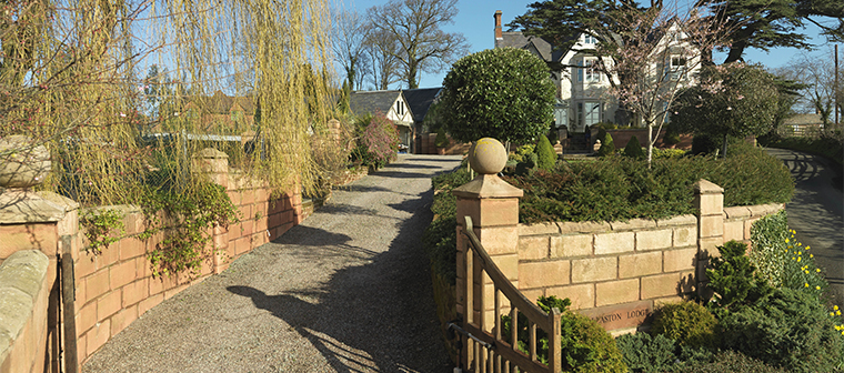 Wollaston Lodge near Shrewsbury Shropshire and Welshpool Powys Wales